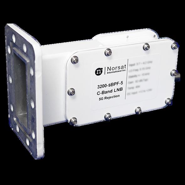 Norsat 3000 Series 3200N-SBPF-5 C-Band Single-Band LNB
