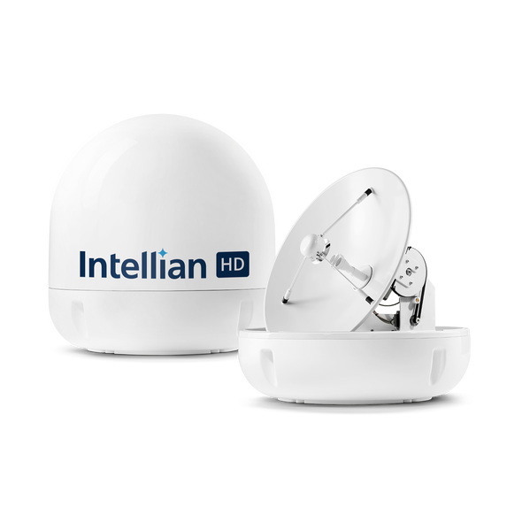 Intellian s6HD America's Top Marine Satellite TV System - Watch All 3 Primary DIRECTV Satellites at Once