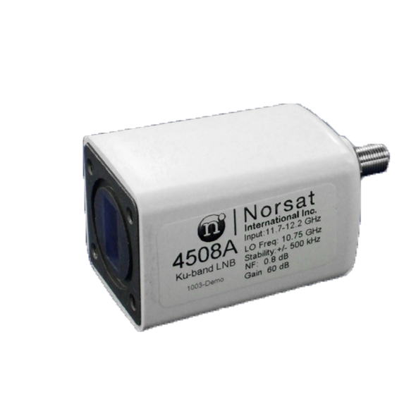 Norsat 4000 Series 4508AF Ku-Band Single-Band LNB