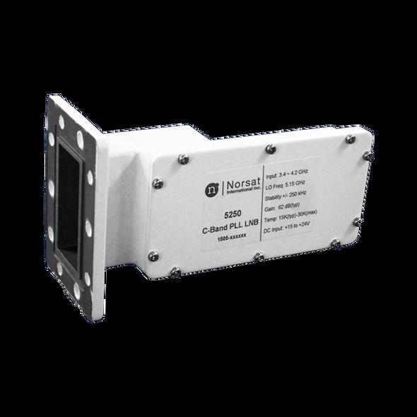 Norsat 5000 Series 5250RF C-Band Single-Band LNB