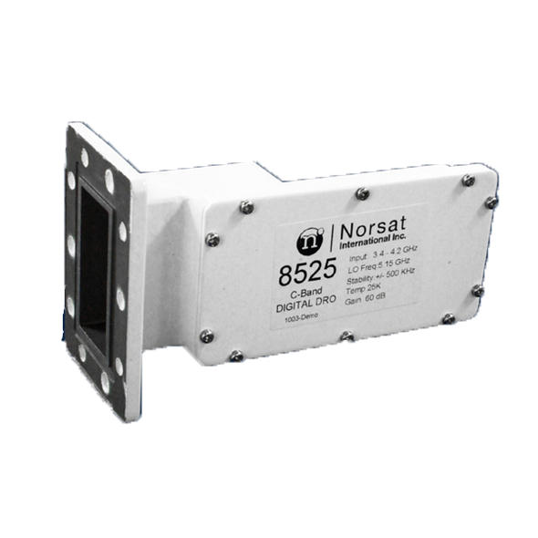 Norsat 8000 Series 8520F C-Band Single-Band LNB