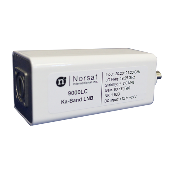 Norsat 9000 Series 9000LBN Ka-Band Single-Band LNB