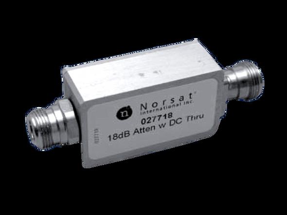Norsat Line attenuator LA118N