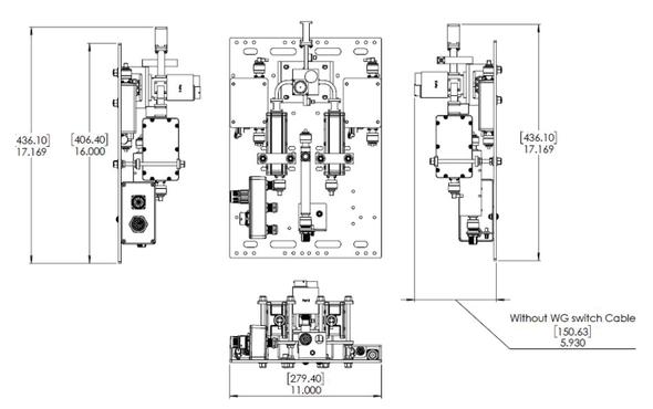 Norsat LNA Redundant Switch System RSLNAKU11R3