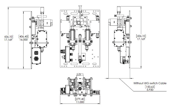 Norsat LNA Redundant Switch System RSLNAX11R5