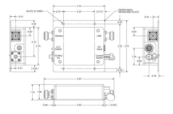 Norsat Universal LNB Controller ULC-0-50S-CI