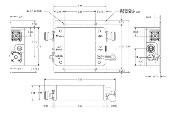 Norsat Universal LNB Controller ULC-0-50S-LLC