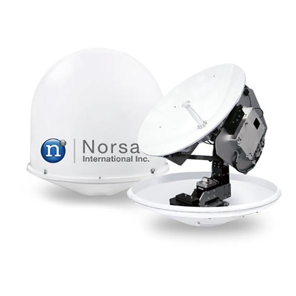 Norasat MarineLink 0.8 m Ku-Band Maritime Antenna