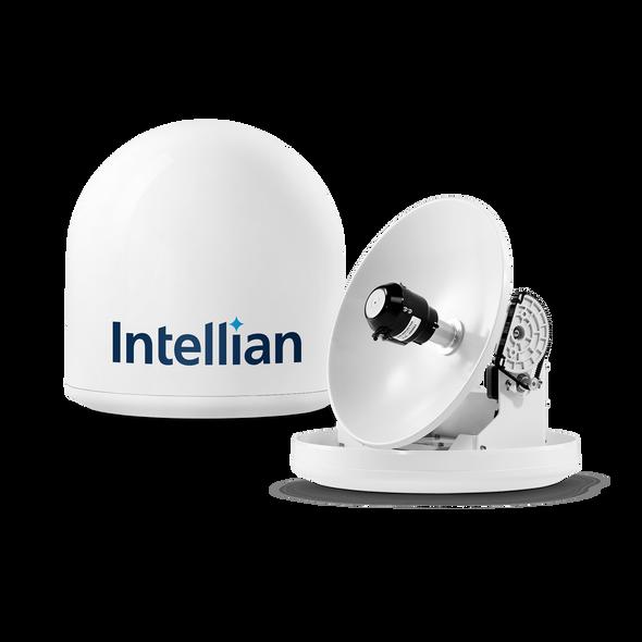 Intellian i3 Linear System with 37cm (14.6 incB4-309Uh) Reflector & Universal Dual LNB - Europe, Sky Mexico, Sky Brazil