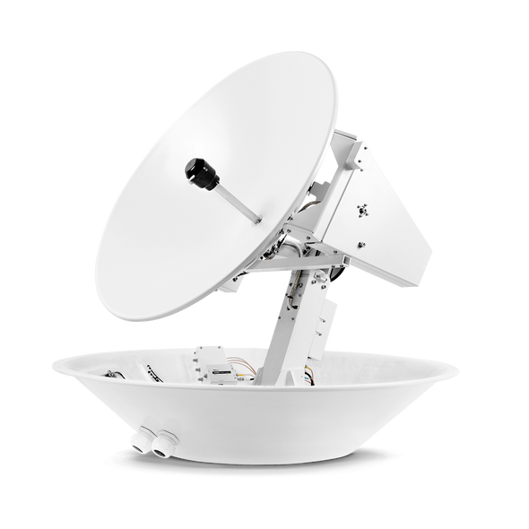 Intellian t80W 3-axis Global System with 85cm (33.5 inch) Reflector & WorldView LNB Gen 2
