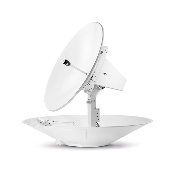 Intellian t130W 3-axis Global System with 125cm (49.2 inch) Reflector & WorldView LNB Gen 2