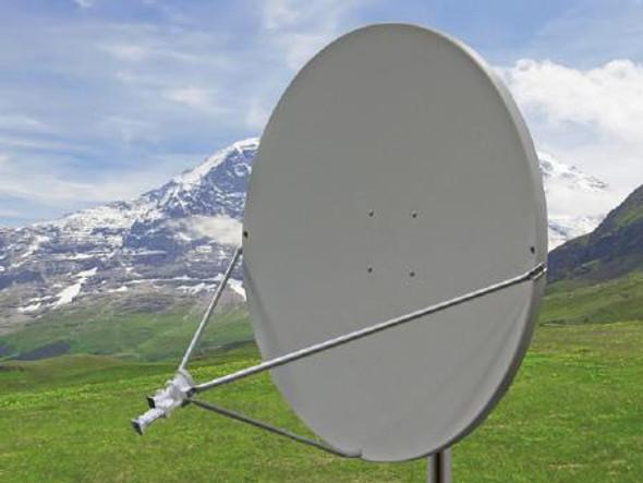 Global Skyware 1.2m Ku Band Receiver Transmitter (Rx & Tx) Antenna System