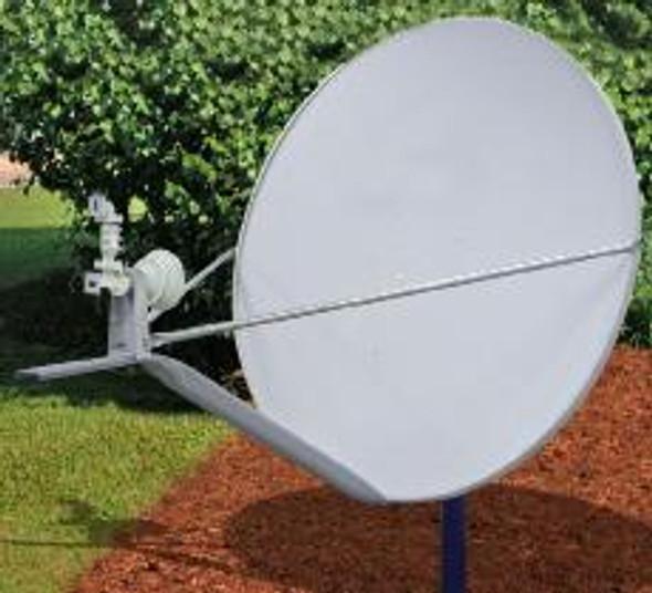 Global Skyware Ku Band Receiver Transmitter (Rx/Tx) Offset Antenna System