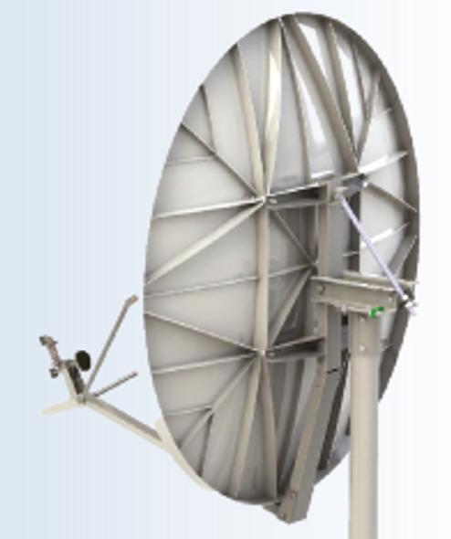 Global Skyware 1.8m Extended Ku Band Receiver Transmitter (Rx/Tx) SFL Class III Antenna System
