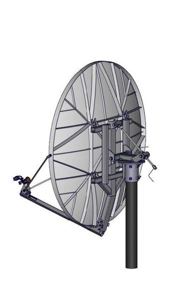 Global Skyware 1.8m Receiver Transmitter (RxTx) Class IIIH Antenna System