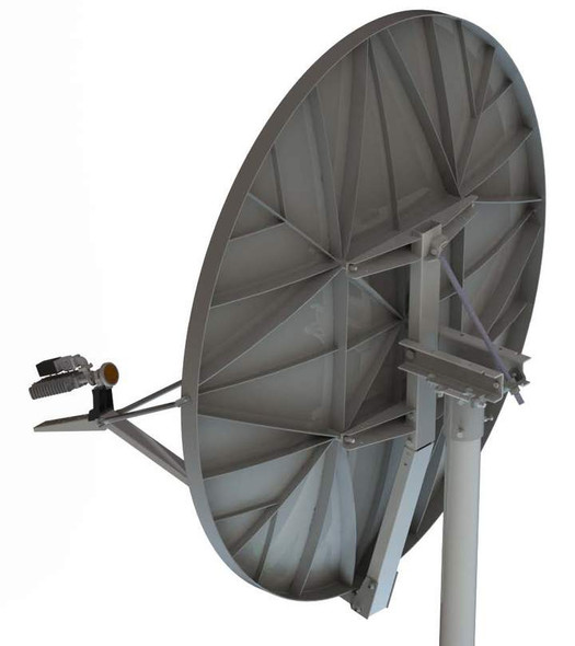 Global Skyware 1.8m Standard Ku Band Receiver Transmitter (Rx/Tx) SFL Class III Antenna System with Mode Matched Feed