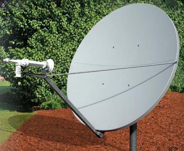 Global Skyware 2.4M Circular Receiver Transmitter (Rx/Tx) Class III Antenna System
