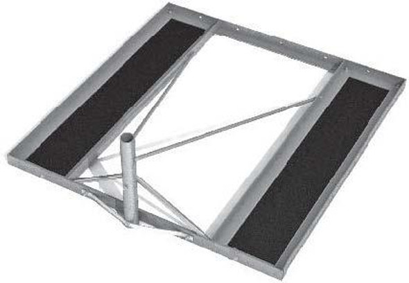 Global Skyware  6110057-03 1.98m x 1.98m Non-Penetrating Roof Mount with Roof Pads