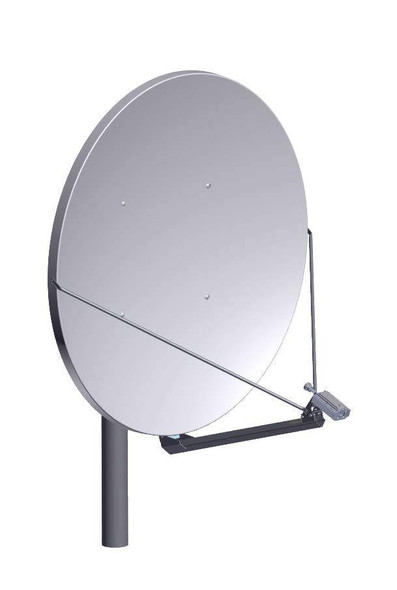 Global Skyware 2.4m Ka Band Receiver Transmitter (RxTx) Antenna System