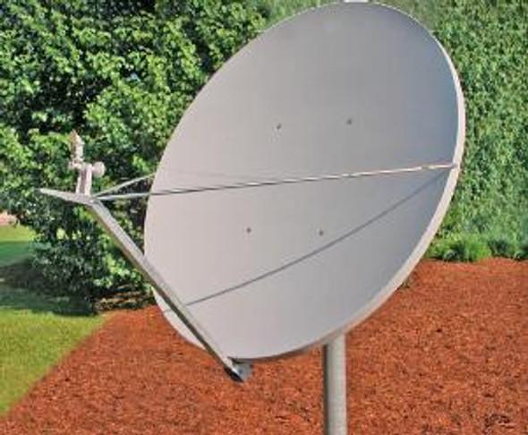 Global Skyware 2.4m Ku Band Receiver Transmitter (Rx/Tx) Class III Antenna System