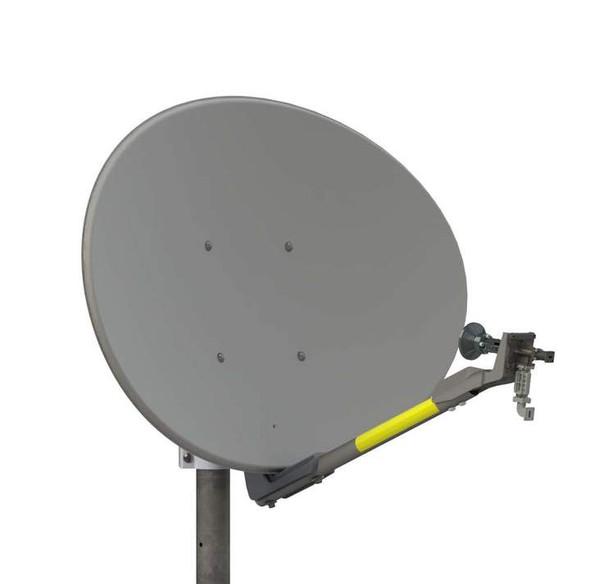 Global Skyware 74cm Ka and Ku Band Receiver Transmitter (RxTx) Antenna System