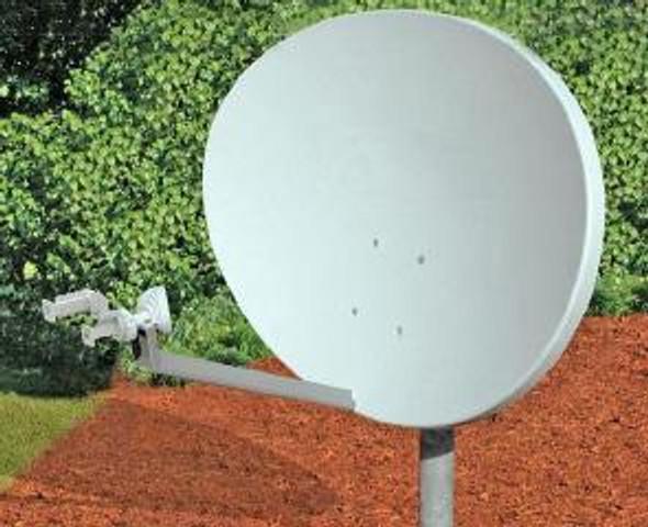 Global Skyware 75cm Ku Band Receiver Transmitter (RxTx) Elliptical Antenna System