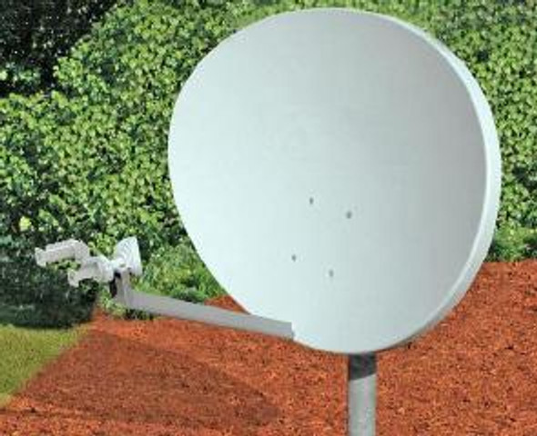 Global Skyware 84cm Ku Band Receiver Transmitter (RxTx) Elliptical Antenna System