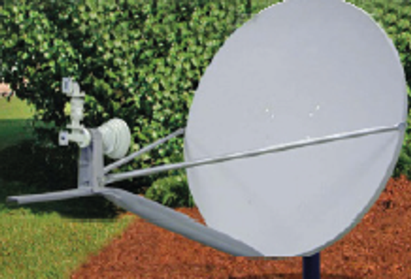 Global Skyware 96cm Ku Band Receiver Transmitter (RxTx) Antenna System - (INT)*