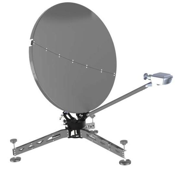 98cm Flyaway Antenna Terminal Eagle Mount Series