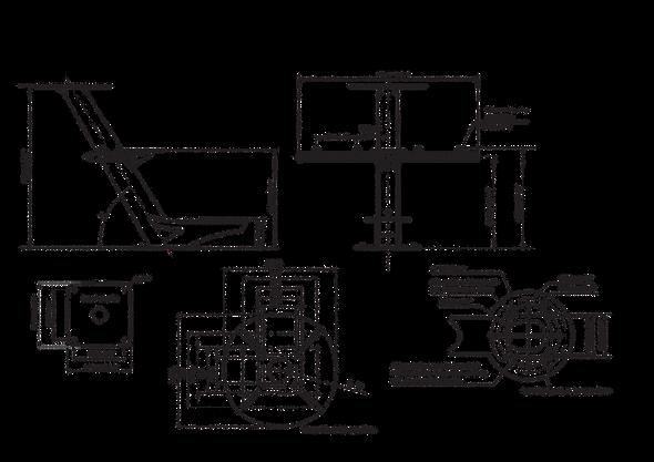 PTM-R1-S40 Tapered radar and satcom mast