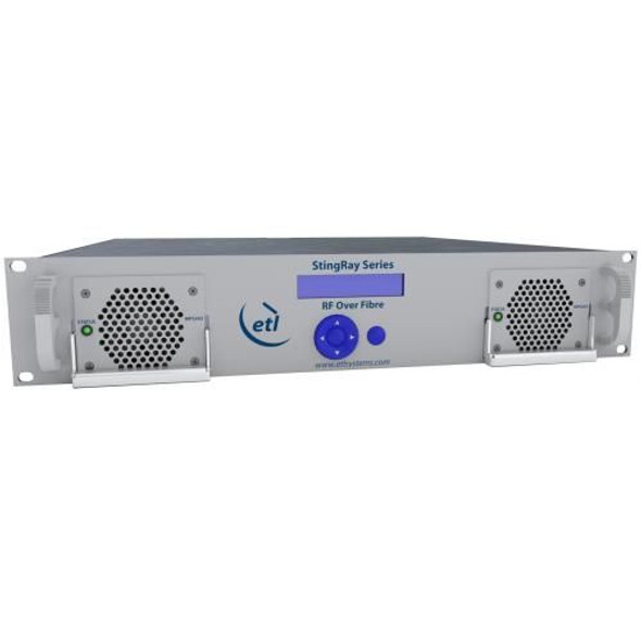 STINGRAY RF OVER FIBRE CHASSIS, 16 MODULE, 200 SERIES WITH OPTICAL ETHERNET PORT