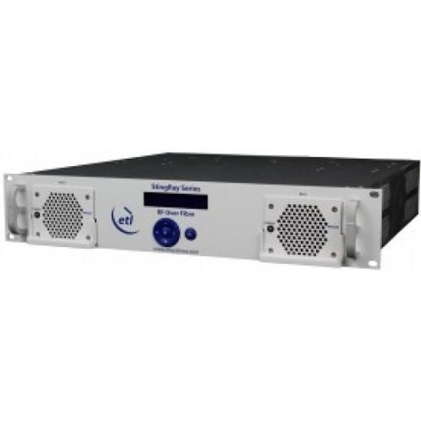 STINGRAY RF OVER FIBRE CHASSIS, 16 MODULE, 200 SERIES WITH 10MHZ INJECT