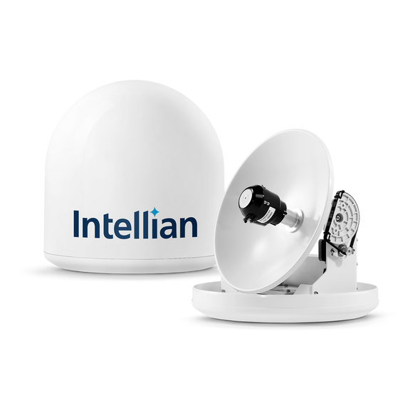 Intellian i2 US System + DISH /Bell MIM (with RG6 1m cable) + RG6 cable 15m + DISH HD Receiver (VIP211)