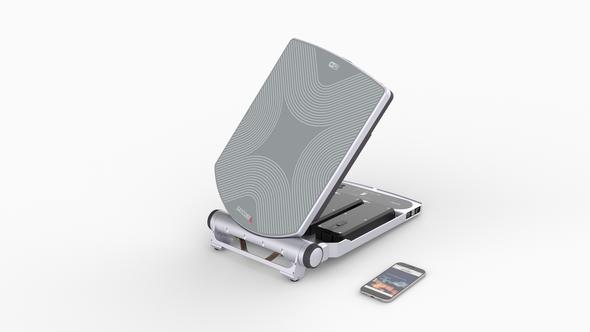 Satcube Ku with inbuilt Newtec 2510‐modem