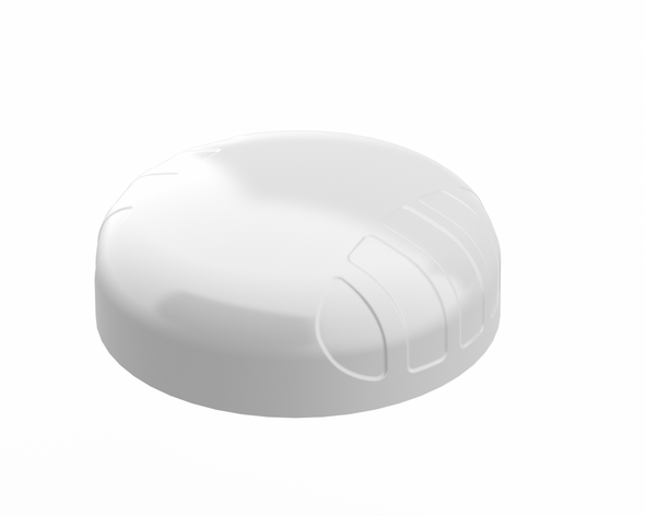 PUCK 2W, 2-in-1 Transportation & IoT/M2M Antenna; 698 - 3800 MHz; 2X2 LTE (MIMO), 6dBi (White)