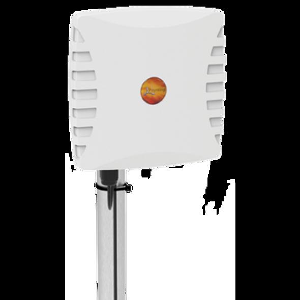 WLAN-60, UNI-DIRECTIONAL, DUAL-BAND WI-FI ANTENNA  2400 – 2500 MHz, 3300 – 3800 MHz & 5000 – 6000 MHz, 18dBi