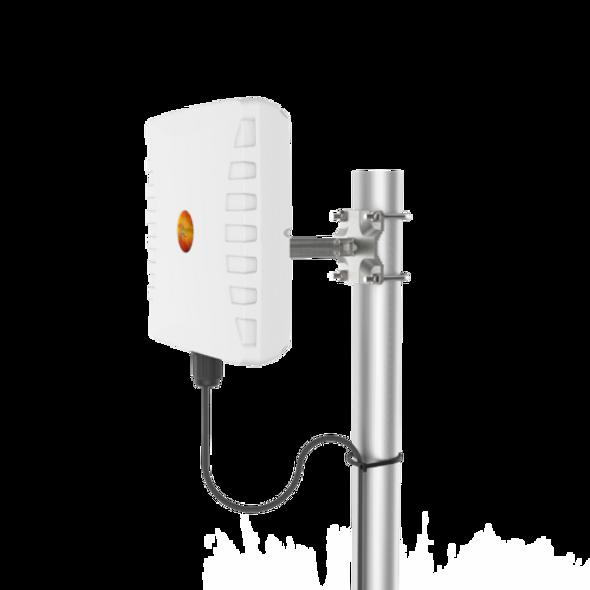 WLAN 61, UNI-DIRECTIONAL, DUAL-BAND WI-FI ANTENNA; (4×4 MIMO)  2400 – 2500 MHz, 9dBi; 5000 – 6000 MHz, 11dBi