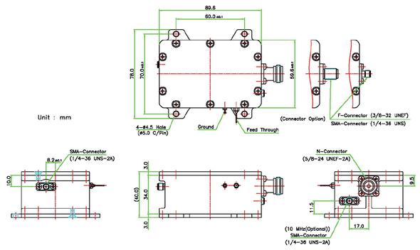 Norsat 9000 Series BDC-9000ASP Ka-Band Single-band BDC