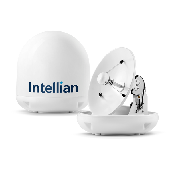 Intellian i4 Most Popular Size US System with 45cm (17.7 inch) Reflector & All-Americas LNB