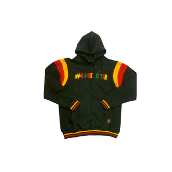This amazing  Black performance of this hoodie is coupled with a unique design that features functional drawstrings, elastic waist, and cuffs.