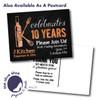 Copper and Chalk // Anniversary Invitation