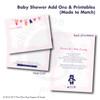 Bohemian Beach // Baby Shower Invitation