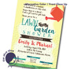 Lawn and Garden // Wedding Shower Invitation