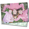 Tickled Pink This Christmas // Holiday Card