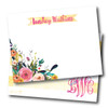 Flat Note Cards // Little Wildflower Stationery Suite