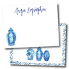 Flat Note Cards // Something Blue Stationery Suite