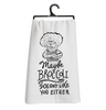 Kitchen Towel // Maybe Broccoli Doesn't Like You Either