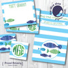 Flat Note Cards // Fishers of Men Stationery Suite // Benefitting Price's Point