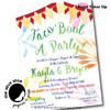 Taco 'Bout A Party // Wedding Shower Invitation