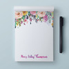 Little Wildflower // Personalized Note Pad